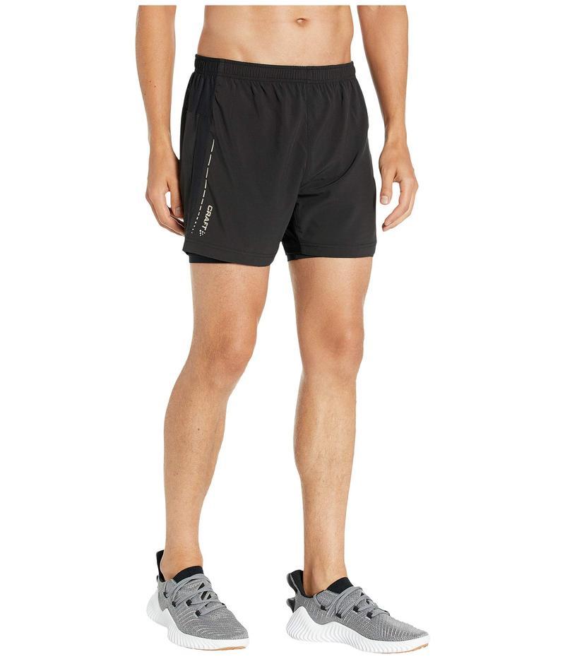 クラフト メンズ ハーフパンツ・ショーツ ボトムス Essential 2-in-1 Shorts Black
