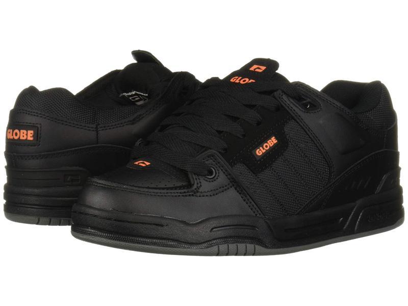 グローブ メンズ スニーカー シューズ Fusion Black/Black/Orange