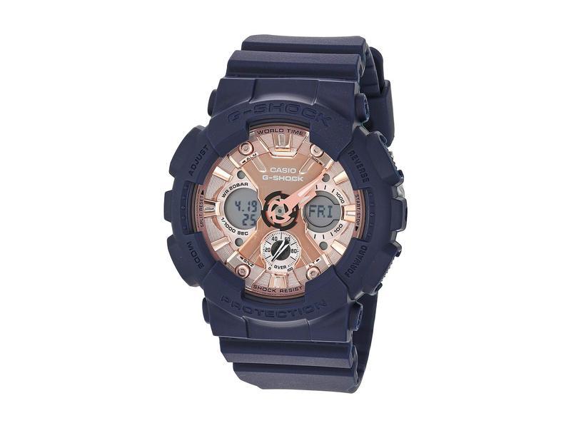 ジーショック レディース 腕時計 アクセサリー GMAS120MF-2A2 Blue