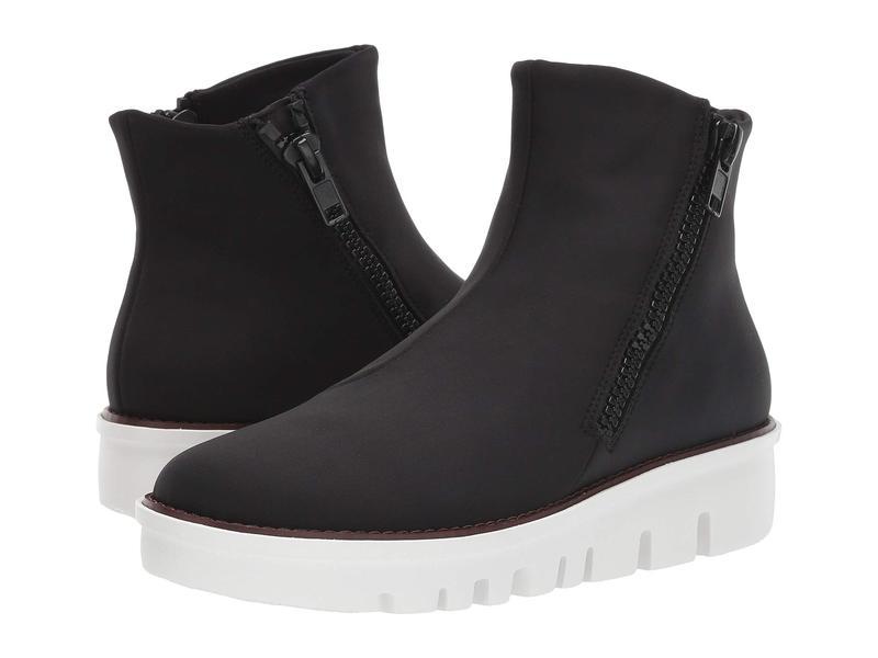 フィットフロップ レディース スニーカー シューズ Chunky Zip Ankle Boot Black