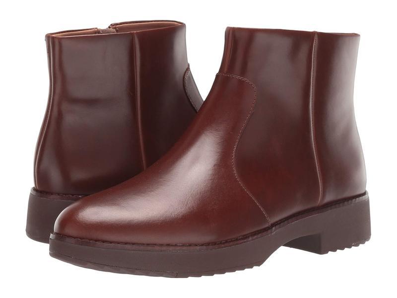 フィットフロップ レディース ブーツ・レインブーツ シューズ Maria Ankle Boot Chocolate Brown