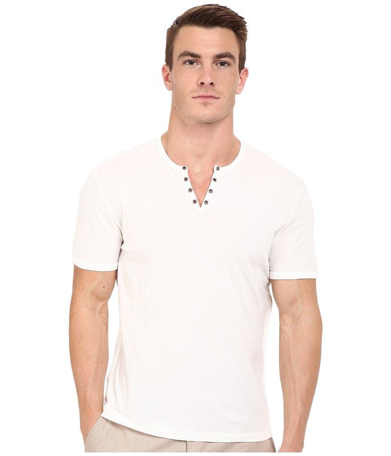 ジョンバルバトス メンズ シャツ トップス Short Sleeve Eylelet Crew Shirt Salt