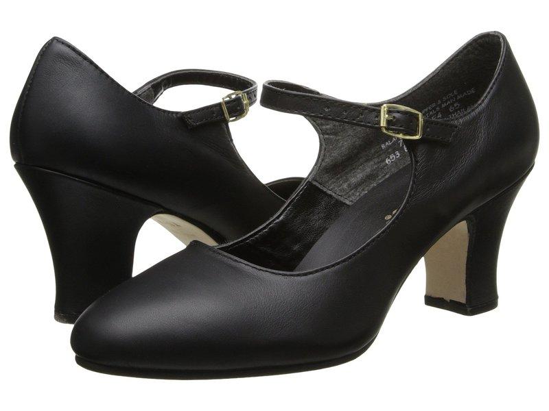 カペジオ レディース ヒール シューズ Manhattan Character Shoe Black