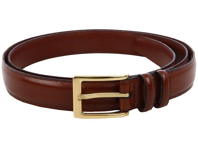 トリーノレザー メンズ ベルト アクセサリー Big and Tall 30MM Antigua Leather Saddle Brown