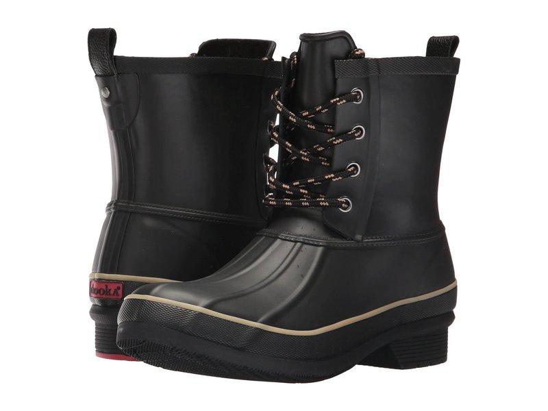 チョーカ レディース ブーツ・レインブーツ シューズ Classic Rain Duck Boot Black