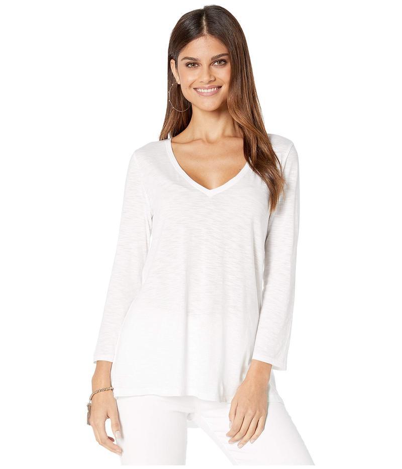 大人の上質  リリーピュリッツァー レディース シャツ トップス Etta 3/4 Sleeve Top Resort White, EMF Farm Produce b330e33c