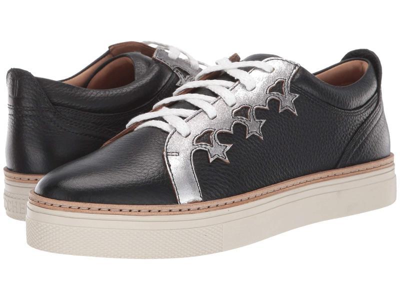 ルチーズ レディース スニーカー シューズ Saddle Shoe Black/Silver
