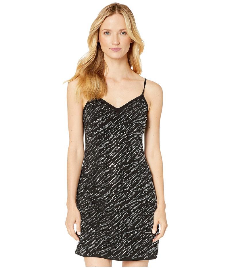 マイケルコース レディース ワンピース トップス Embellished Slip Dress Black