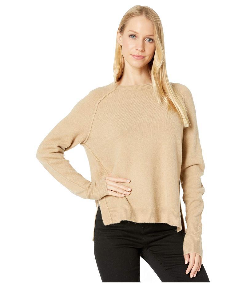マイケルスターズ レディース ニット・セーター アウター Solana Knits Kennedy Crew Neck Raglan Pullover Sweater Nomad