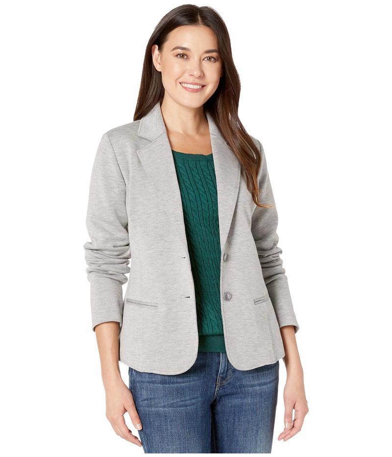 ペンドルトン レディース コート アウター Double Knit Blazer Soft Grey/Taupe