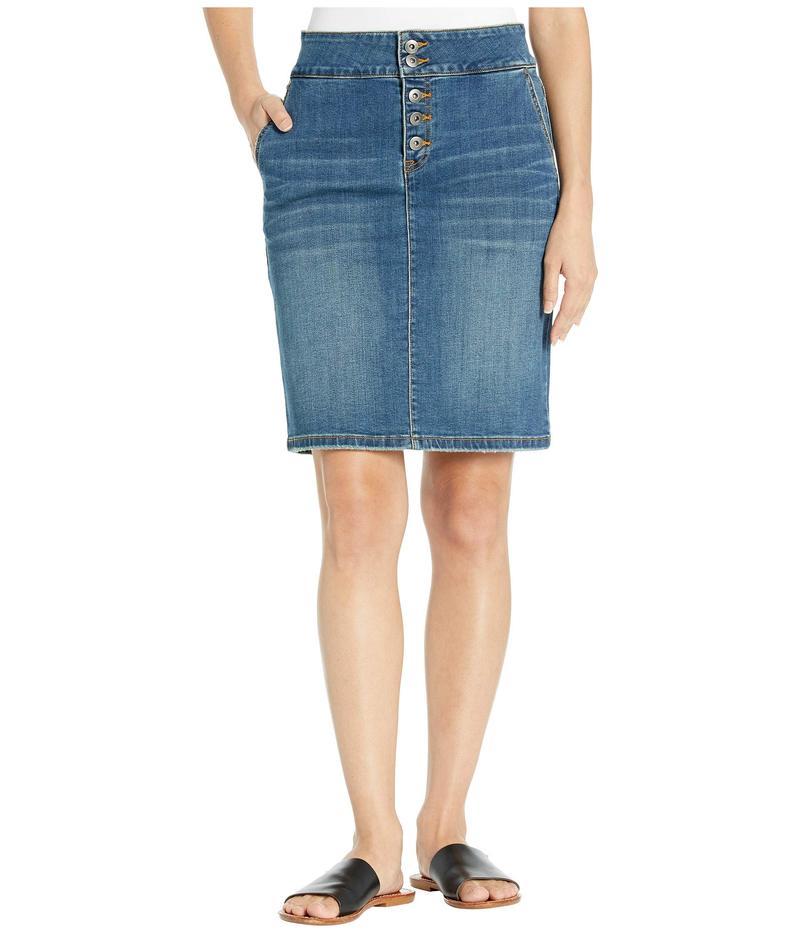 プラーナ レディース スカート ボトムス Aubrey Denim Skirt Antique Blue