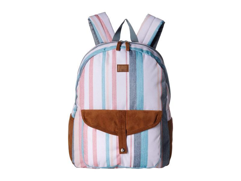 ロキシー レディース バックパック・リュックサック バッグ Carribean Backpack Snow White Retr
