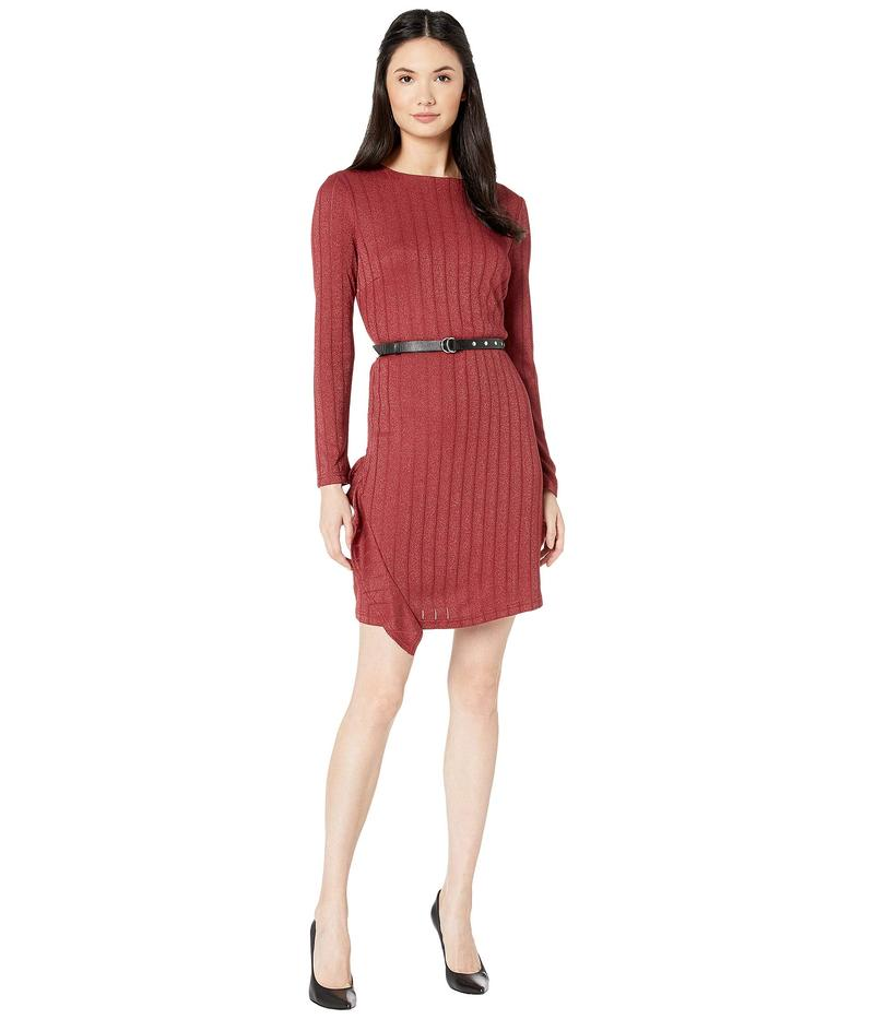 サムエデルマン レディース ワンピース トップス Asymmetrical Ruffle Knit Dress Amber