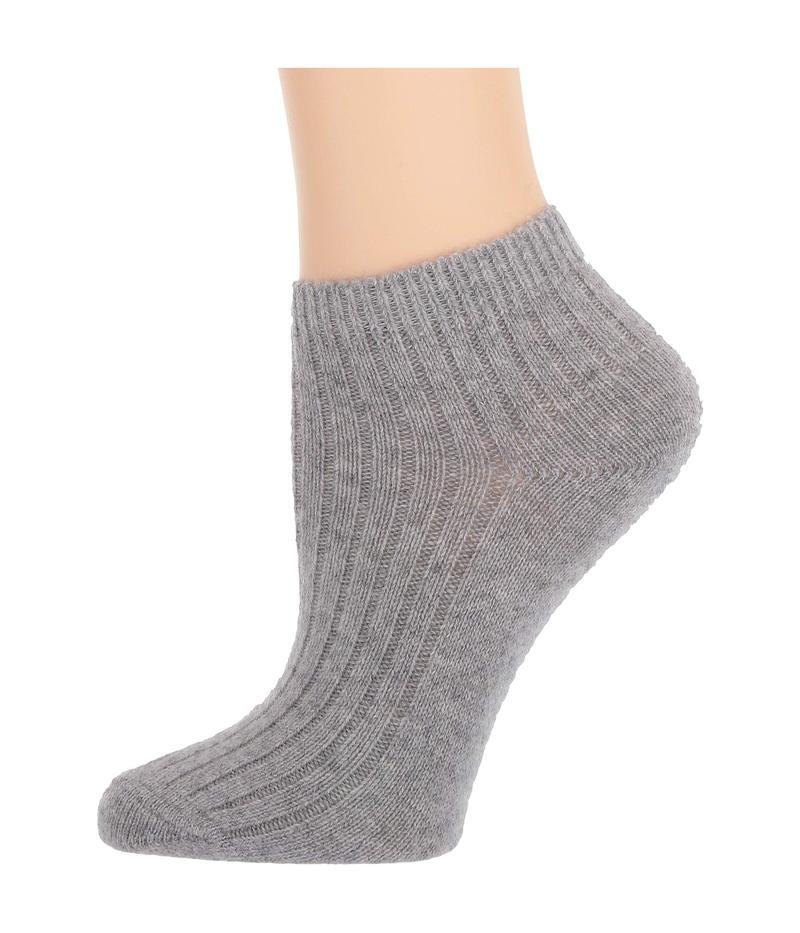 スキン レディース 靴下 アンダーウェア Cashmere Socks Heather Grey