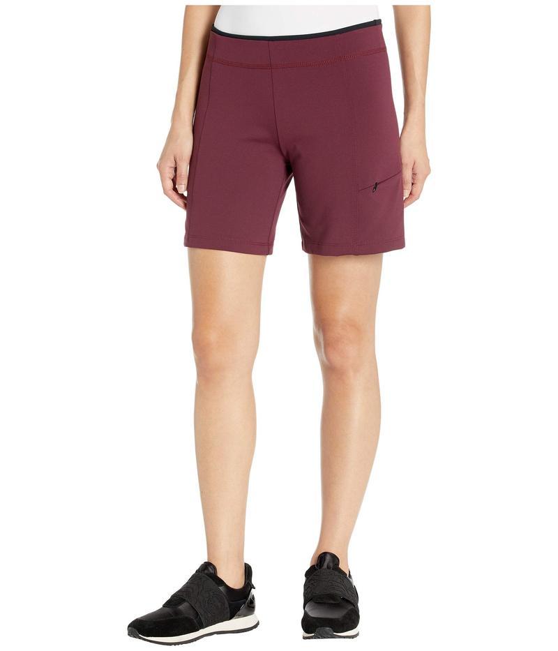 ストーンウェアデザイン レディース カジュアルパンツ ボトムス Rockin Shorts Burgundy Red