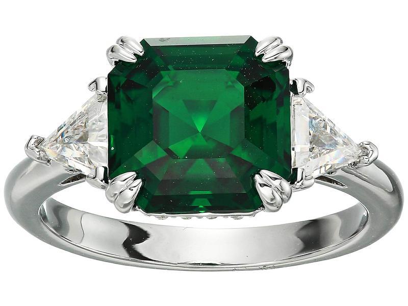 スワロフスキー レディース リング アクセサリー Trilogy Ring CZ Emerald