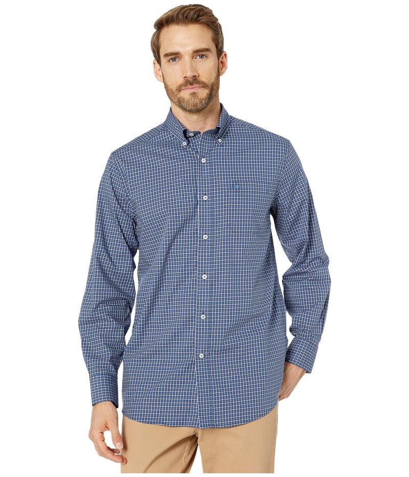 サウザーンタイド メンズ シャツ トップス Oak Newton Plaid Sports Shirt Endless Blue