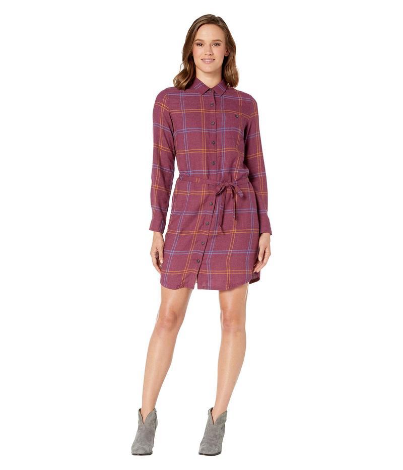 ドード アンドコー レディース ワンピース トップス Re-Form Flannel Shirtdress Port
