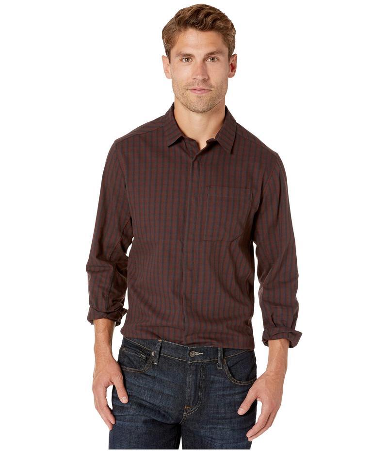 アークテリクス メンズ シャツ トップス Bernal Long Sleeve Shirt Black Baccara