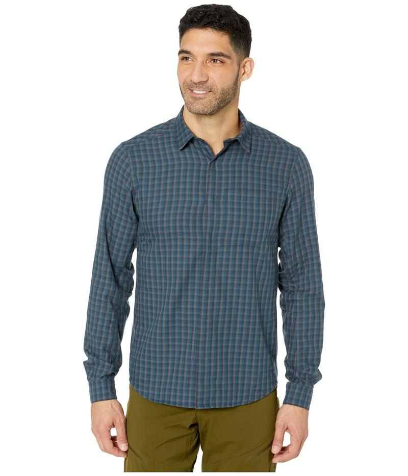 アークテリクス メンズ シャツ トップス Bernal Long Sleeve Shirt Pontus
