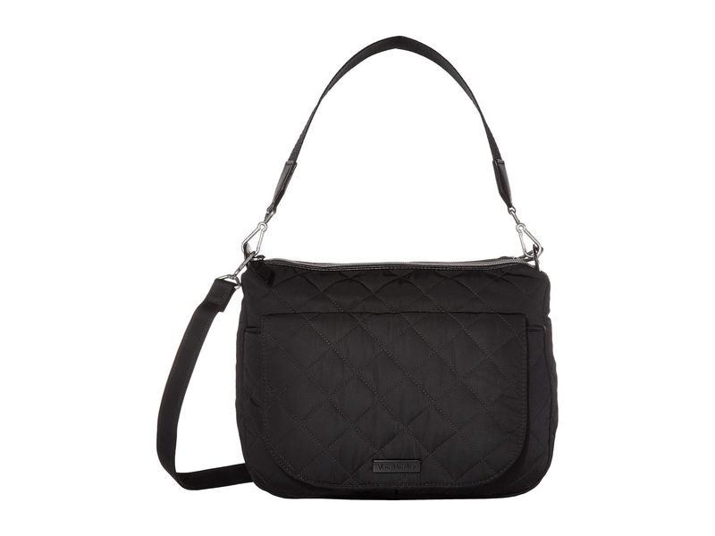 ベラブラッドリー レディース ハンドバッグ バッグ Carson Performance Twill Shoulder Bag Black 1