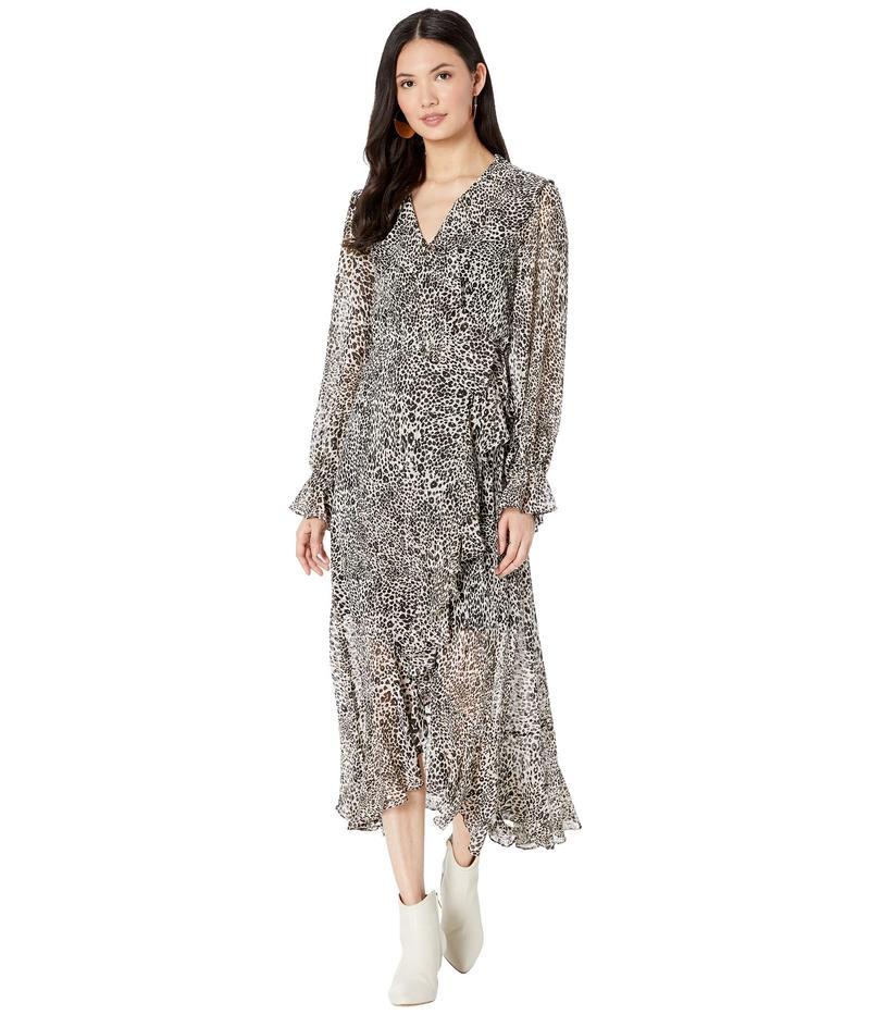 ビーシービージーマックスアズリア レディース ワンピース トップス Printed High-Low Dress Optic White Swi