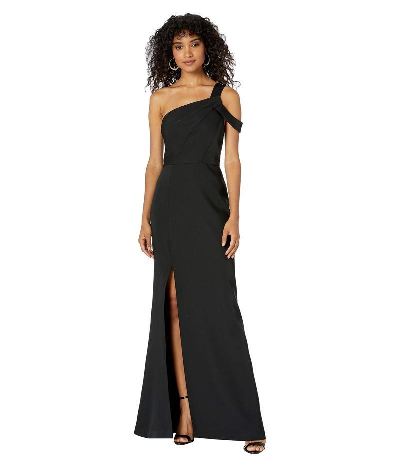 ビーシービージーマックスアズリア レディース ワンピース トップス One Shoulder Gown Black