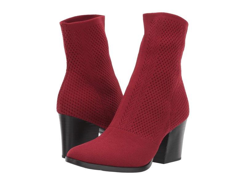 ボーン レディース ブーツ・レインブーツ シューズ Meggs Too Red Knit Fabric