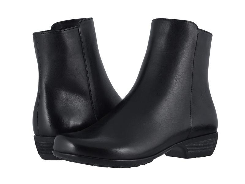 ウォーキング クレイドル レディース ブーツ・レインブーツ シューズ Elsie Black Leather
