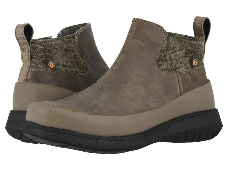 ボグス レディース ブーツ・レインブーツ シューズ Freedom Ankle Boot Taupe