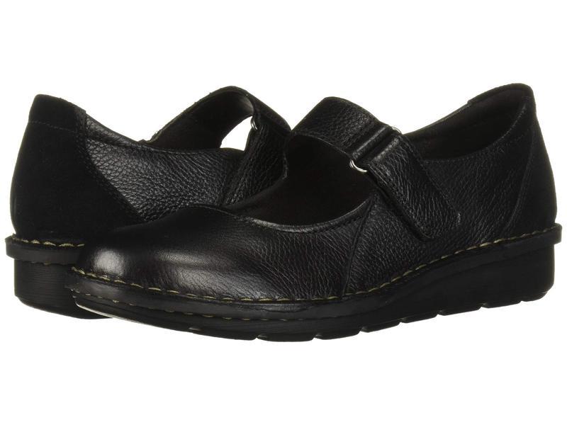 クラークス レディース サンダル シューズ Michela Penny Black Leather/S