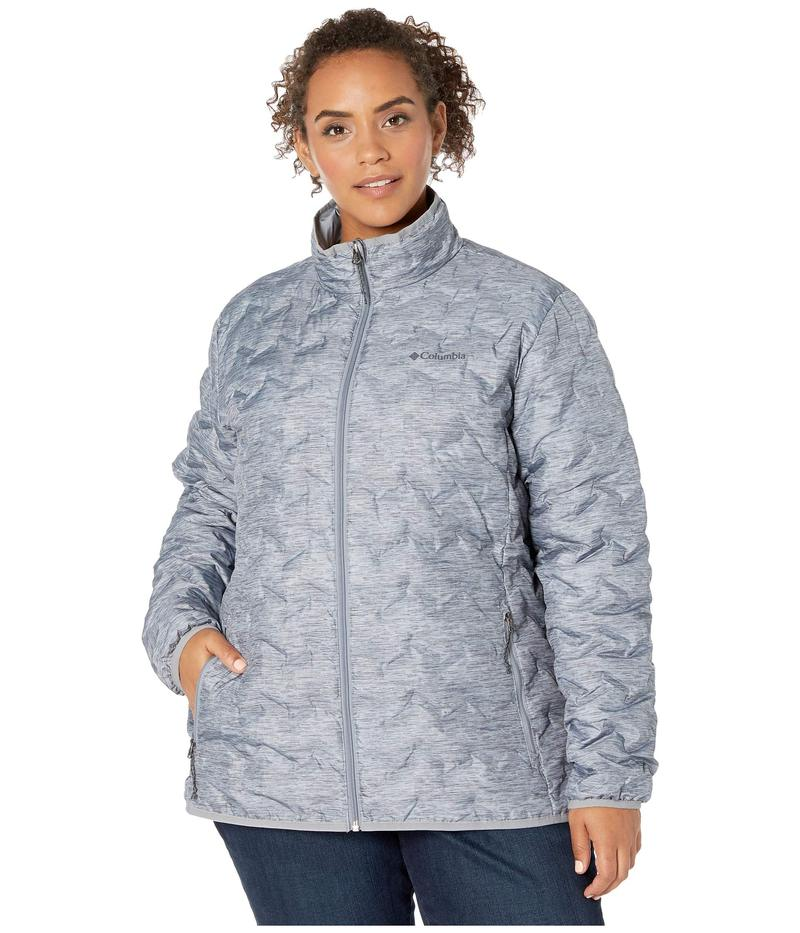 コロンビア レディース コート アウター Plus Size Delta Ridge¢ Down Jacket Tradewinds Grey