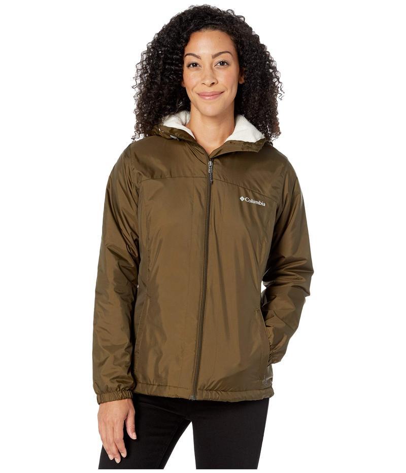 コロンビア レディース コート アウター Switchback¢ Sherpa Lined Jacket Olive Green/Cha