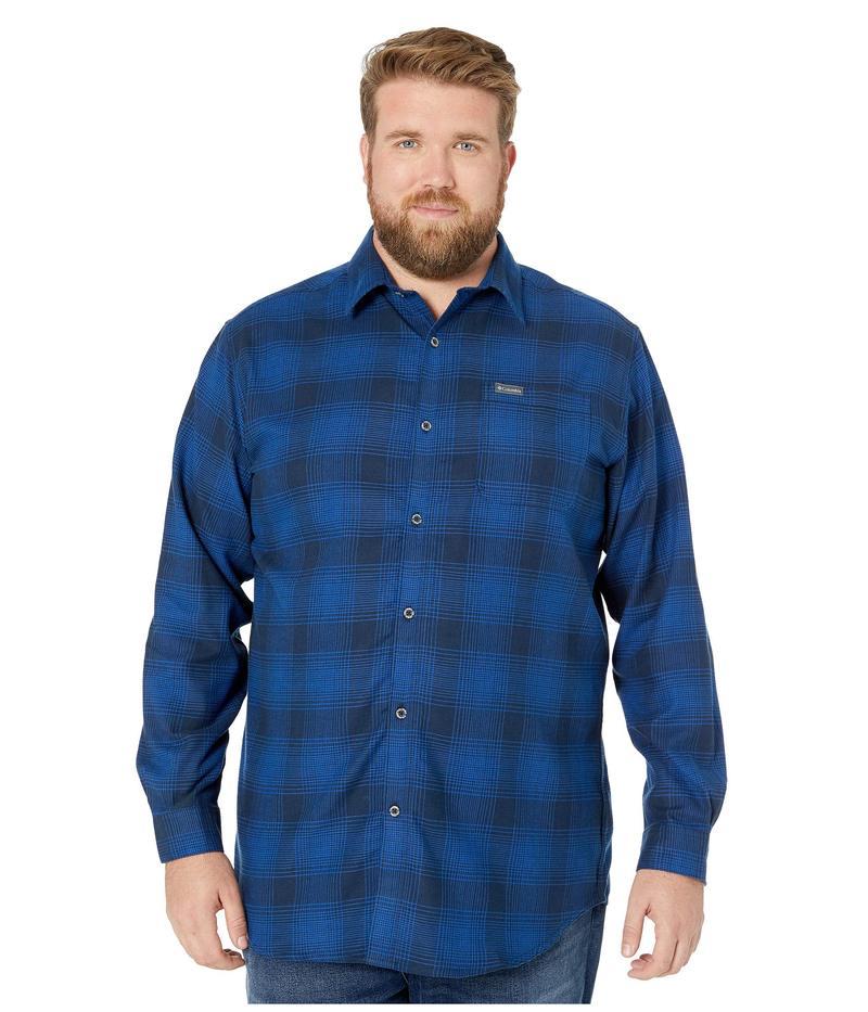 コロンビア メンズ コート アウター Big & Tall Boulder Ridge Long Sleeve Flannel Collegiate Navy