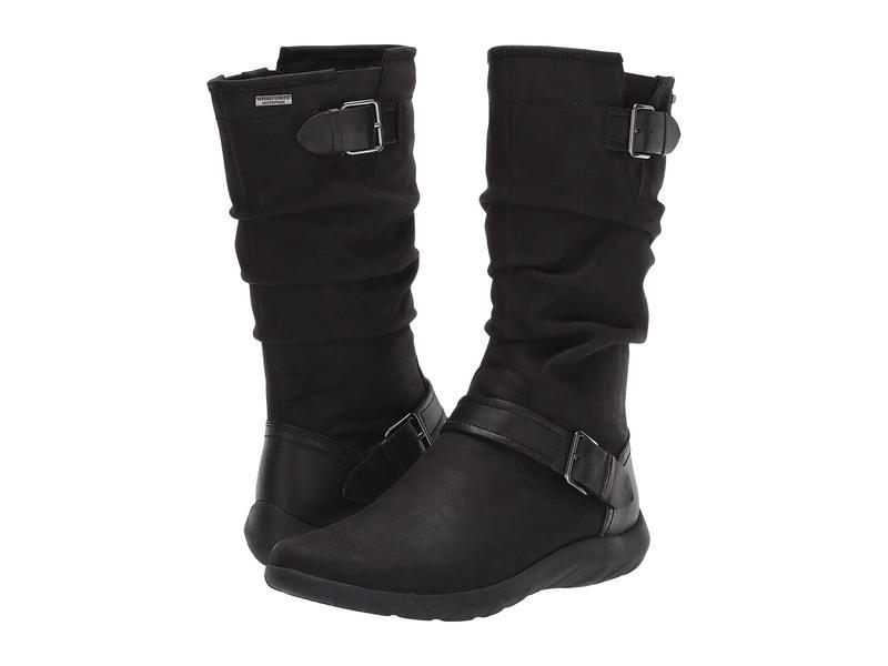 コブ ヒル レディース ブーツ・レインブーツ シューズ Amalie Mid Boot Waterproof Black