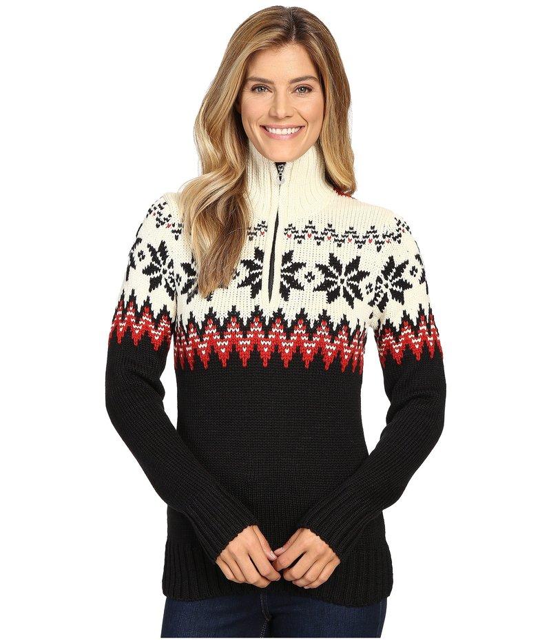ダールオブノルウェイ レディース ニット・セーター アウター Myking Sweater Black/Raspberry