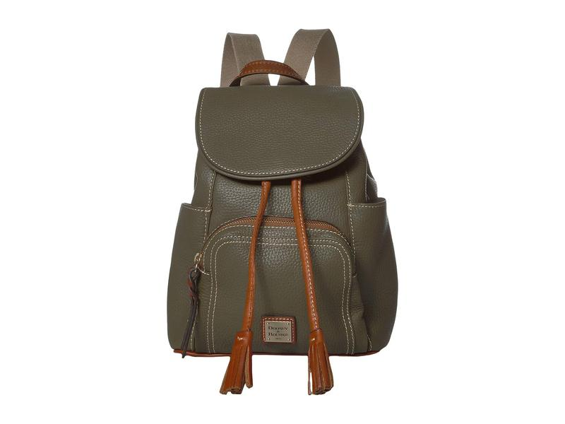 ドーネイアンドバーク レディース バックパック・リュックサック バッグ Pebble Medium Murphy Backpack Olive/Tan Trim