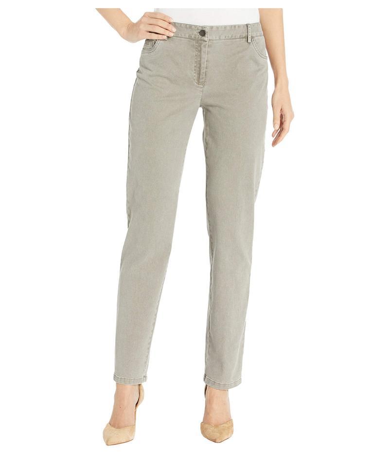 エリオットローレン レディース デニムパンツ ボトムス Pigment Dye Twill Five-Pocket Jeans Mushroom