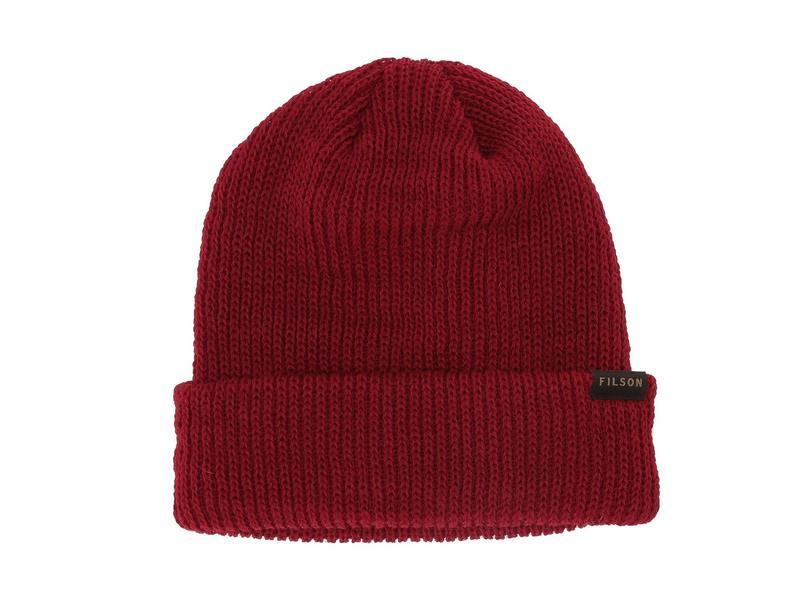 送料無料 サイズ交換無料 フィルソン メンズ アクセサリー 帽子 Red フィルソン メンズ 帽子 アクセサリー Watch Cap Red