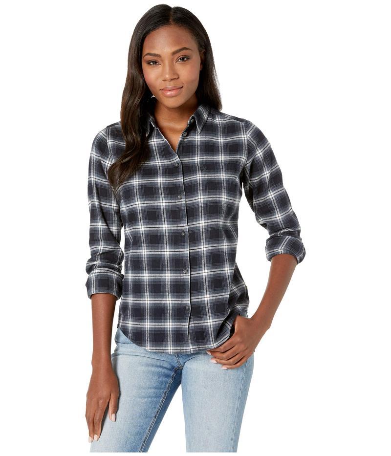 フェールラーベン レディース シャツ トップス vik Flannel Shirt Dark Navy