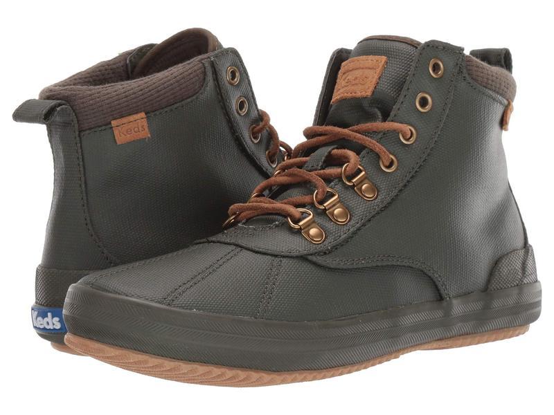 ケッズ レディース ブーツ・レインブーツ シューズ Scout Boot II Matte Canvas WX Olive Splash Ca