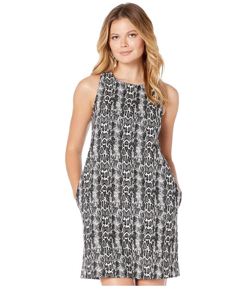 カレンケーン レディース ワンピース トップス A-Line Dress Black/White