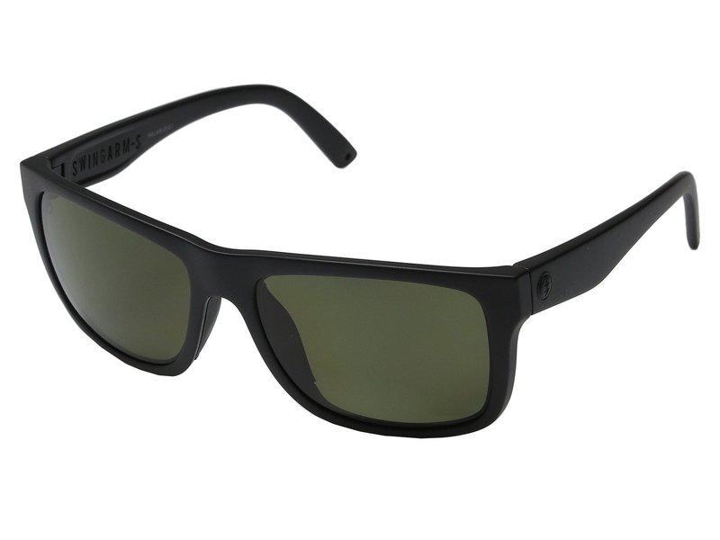 エレクトリックアイウェア メンズ サングラス・アイウェア アクセサリー Swingarm S Polarized Matte Black/Melanin Level 1 Grey Polarized