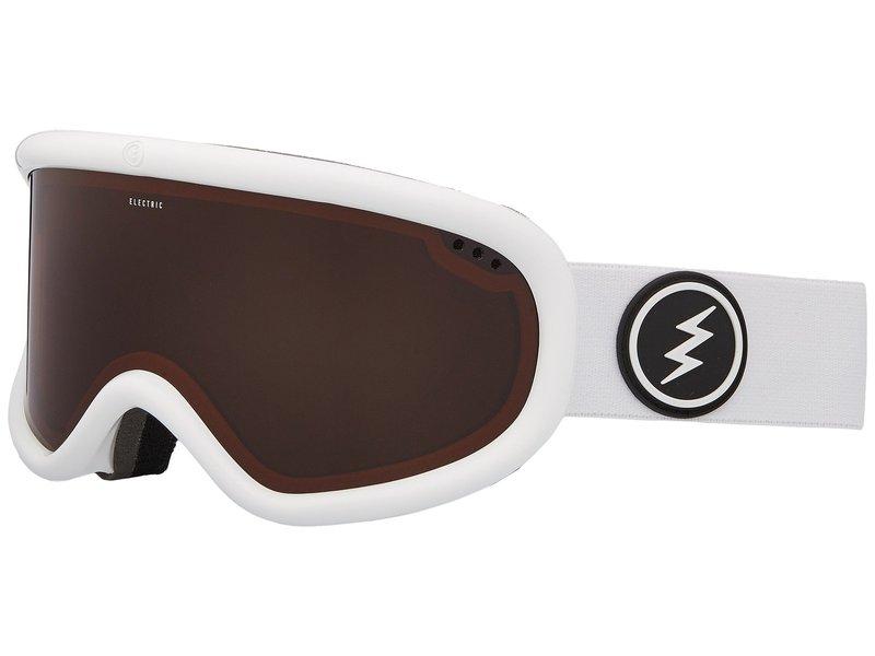 エレクトリックアイウェア メンズ サングラス・アイウェア アクセサリー Charger Gloss White Frame/Brose Lens