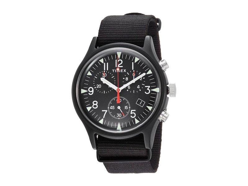 タイメックス メンズ 腕時計 アクセサリー MK1 Aluminum Chrono Black/Black