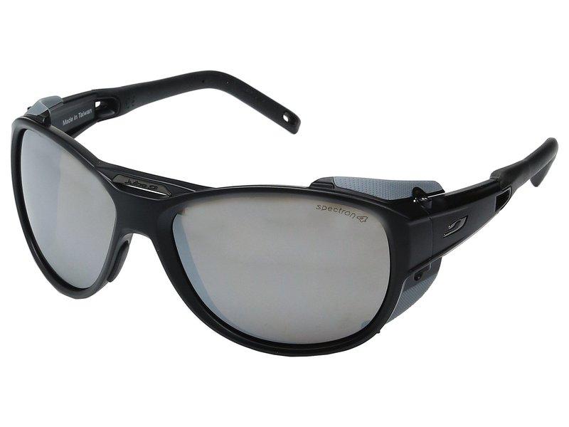 ジュルボアイウェア メンズ サングラス・アイウェア アクセサリー Explorer 2.0 Sunglasses Matte Black/Gray With Spectron 4 Lens