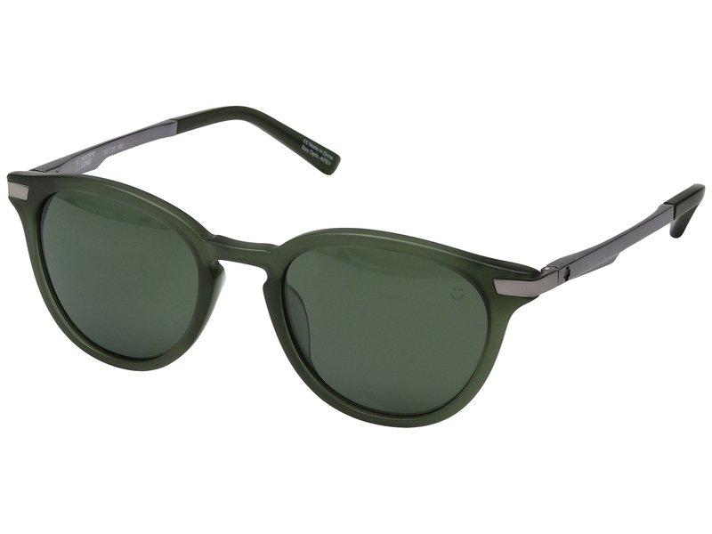 スパイオプティック メンズ サングラス・アイウェア アクセサリー Pismo Matte Translucent Seaweed/Happy Gray Green