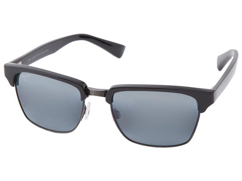 人気大割引 マウイジム メンズ サングラス・アイウェア Kawika アクセサリー メンズ Kawika Black Gloss Gloss w/, ランザンマチ:8216b738 --- superbirkin.com