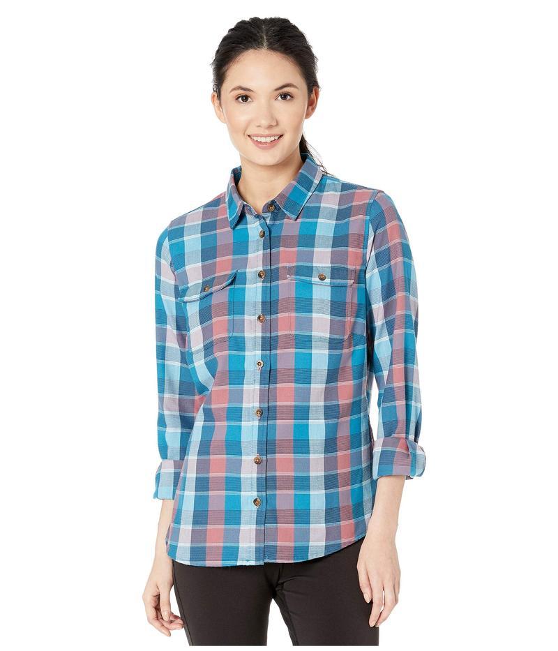 マウンテンカーキス レディース シャツ トップス Pearl Street Flannel Shirt New Moon
