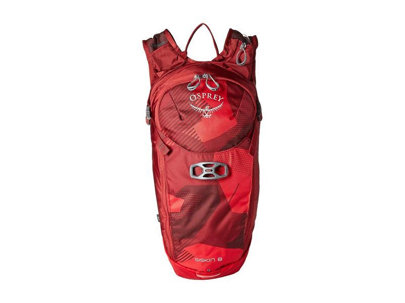 オスプレー メンズ バックパック・リュックサック バッグ Siskin 8 Molten Red